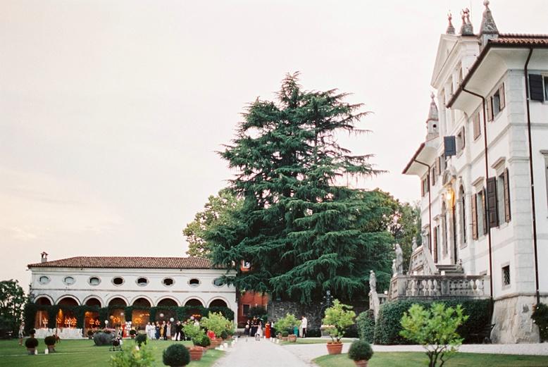 Reception at Villa Gallici Deciani near Udine best wedding locations Italy