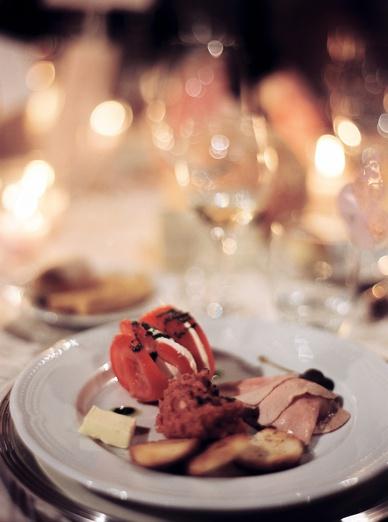 La Dolce Vita Italian wedding dinner
