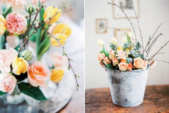 Spring Flower Bucket floral spring inspiration