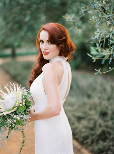 Finest wedding photography South Africa Cape Town Stellenbosch Babylonstoren farm destination wedding photography bride red hair