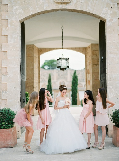 Bridesmaids & Bride Natural Wedding Photography