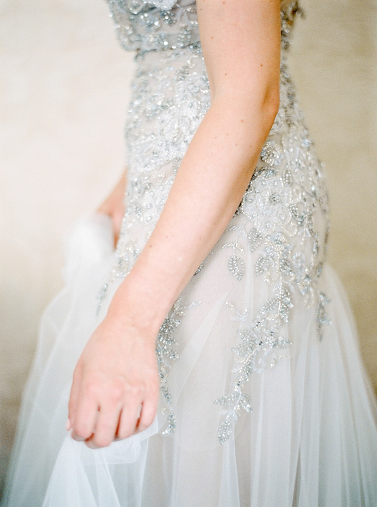 Inbal Dror wedding dress glory captured by peachesandmint.com