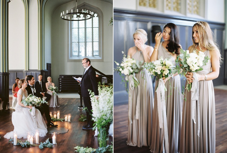 Emotional ceremony at beautiful Zurich wedding captured by Peaches & Mint