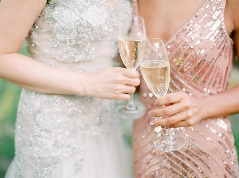All that glitters prettiness at wedding reception