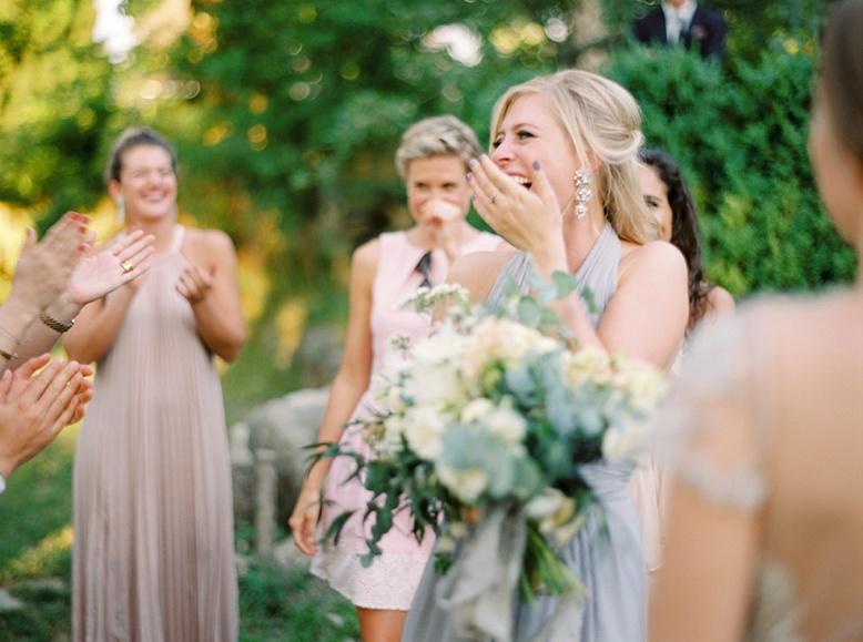 Wedding Bouquet throwing European wedding traditions