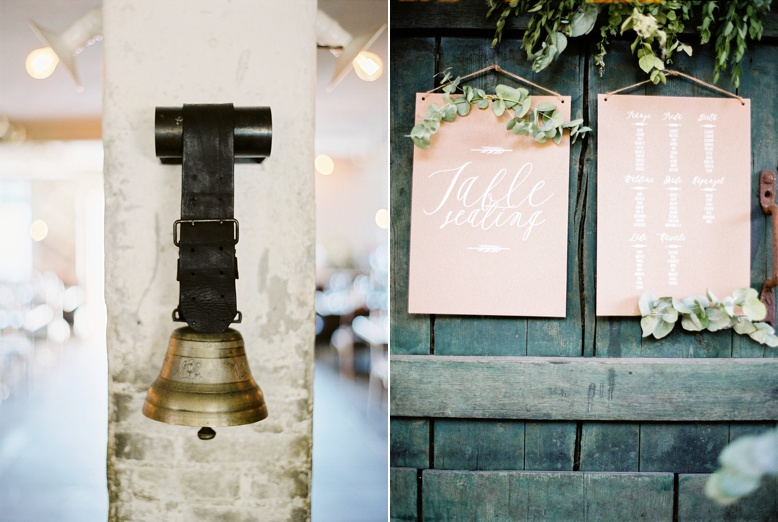 Details at Adlisberg wedding seating chart