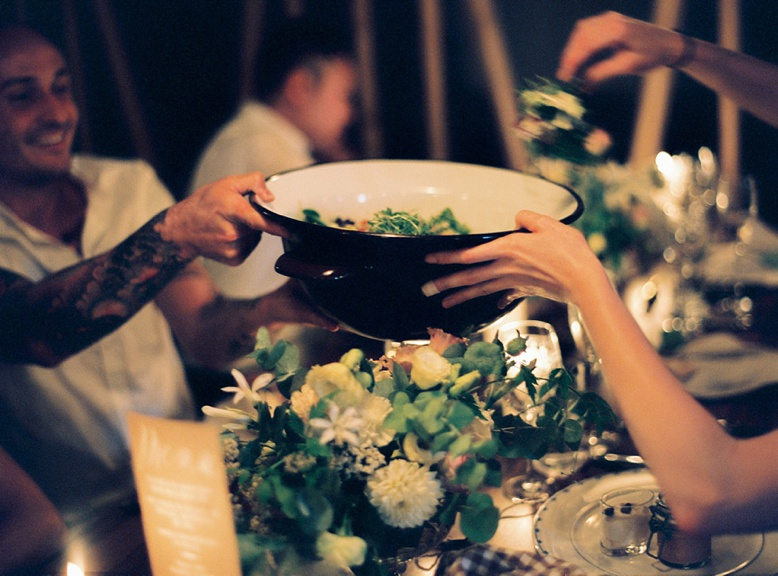 Stylish and uncomplicated wedding dinner at Adlisberg Zurich