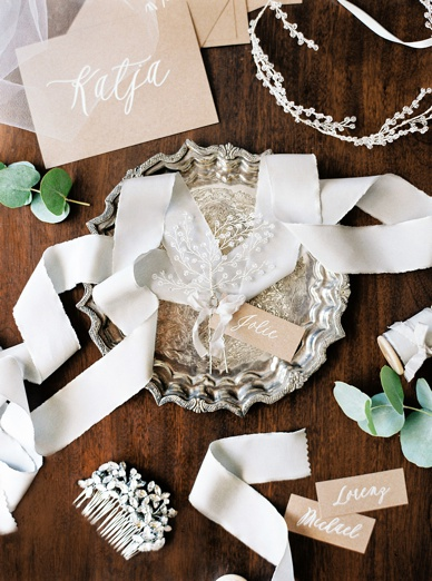 Melinda Rose Headpieces and details of Zurich wedding best of Style Me Pretty 2015