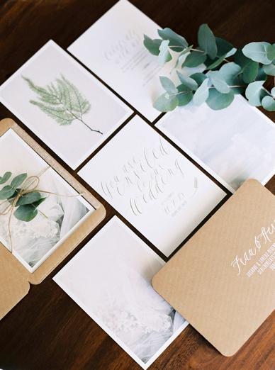 Susanne Bühler Graphic Design Wedding Stationery