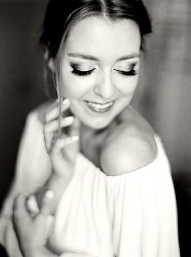 Beautiful Make-up & Hair Sinem Yavsaner for Zurich destination wedding bride