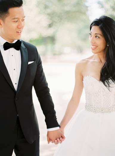 Bride and groom portraits + elegant destination wedding in Paris | Fine art film wedding photographer Peaches & Mint
