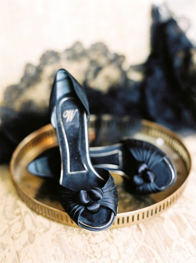 Boudoir Inspiration black and gold italian glamour
