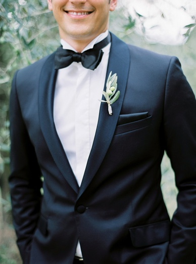 Tuscany Grooms Attire Olive bouttonniers