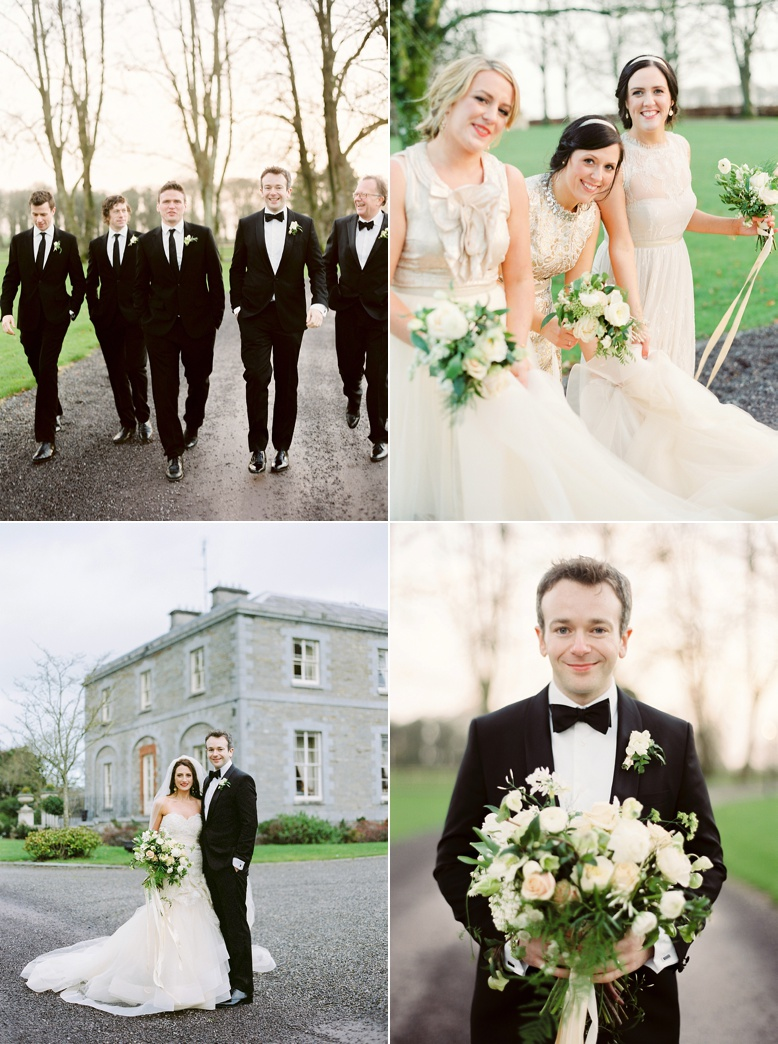 Tankardstown House Wedding film photography by Peaches & Mint