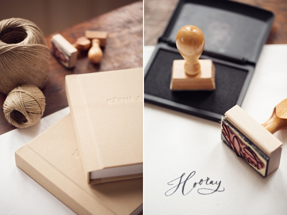 wedding photography album design by peaches and mint