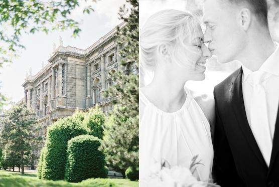 Vienna City Elopement Wedding Photography Vienna