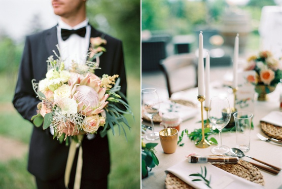 Initimate Vienna Vineyard Wedding